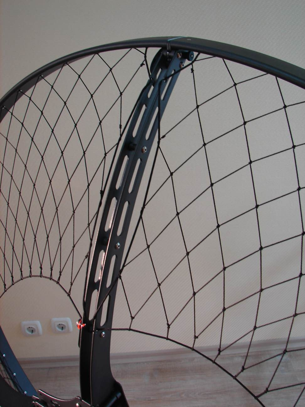 Paramotor - Safety ring grid