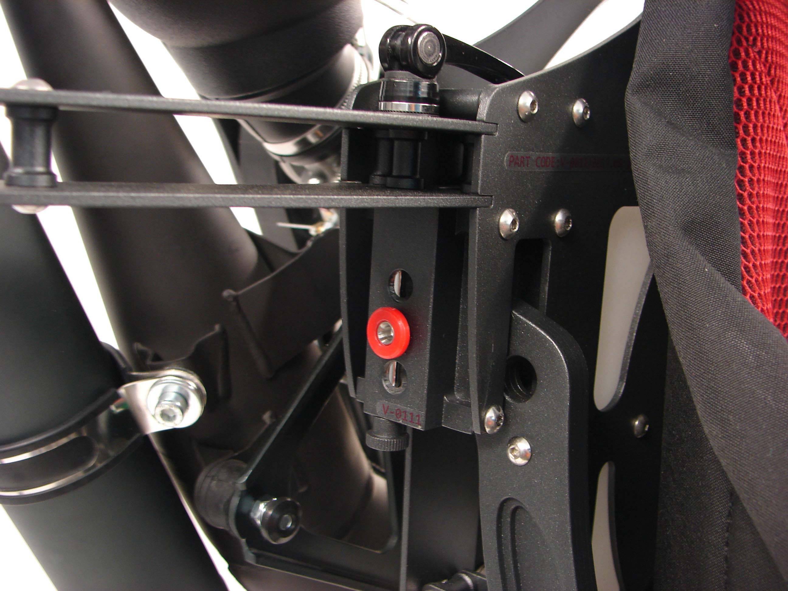 Paramotor - Multi-point adjustment system